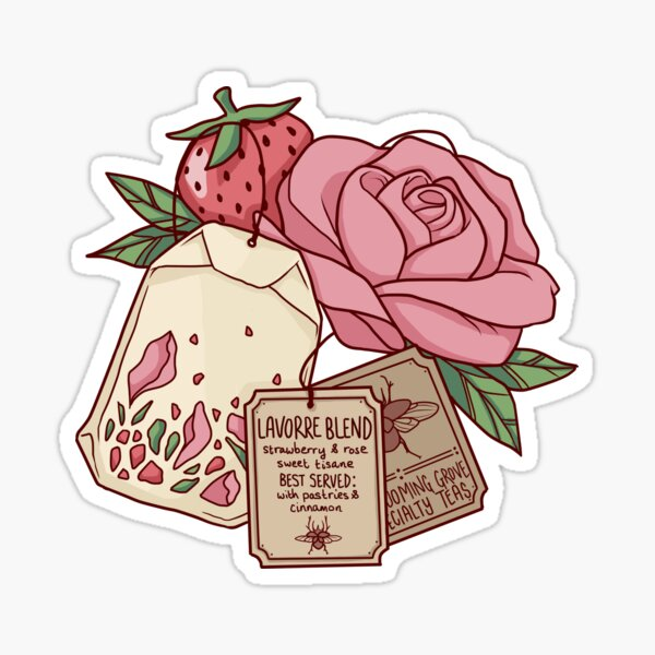 Lavorre Blend / Blooming Grove Specialty Teas Glossy Sticker