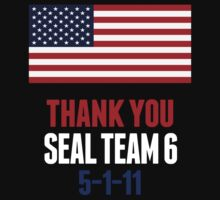 Thank You Navy Seal Team 6 Shirt Osama