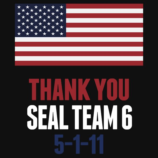Thank You Navy Seal Team 6 Shirt Osama, a t-shirt of team, obama