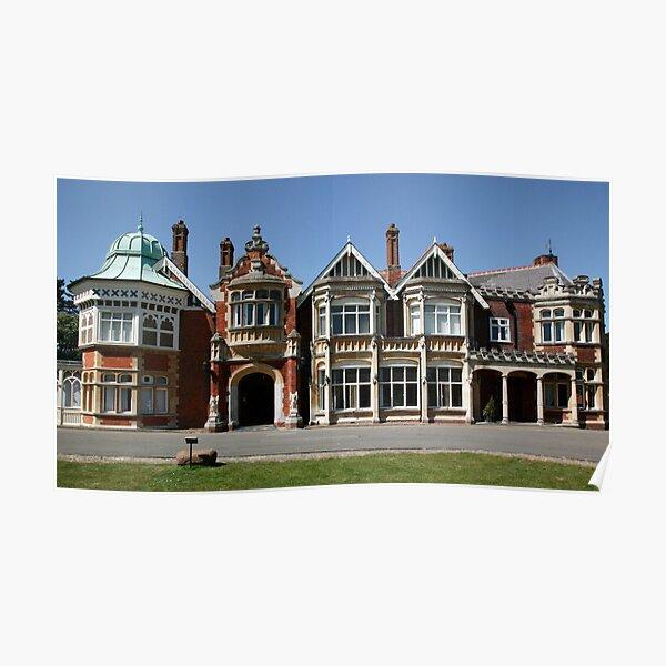 Bletchley Park Mansion Poster