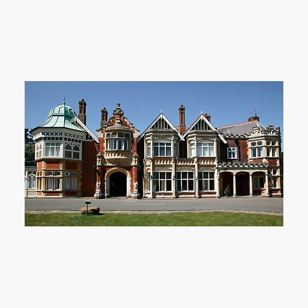 Bletchley Park Mansion Photographic Print