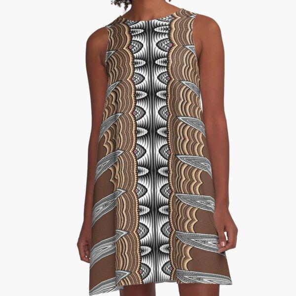 Exotic Crochet (1) A-Line Dress