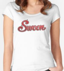 Swoon Band Merchandise Women's Fitted Scoop T-Shirt