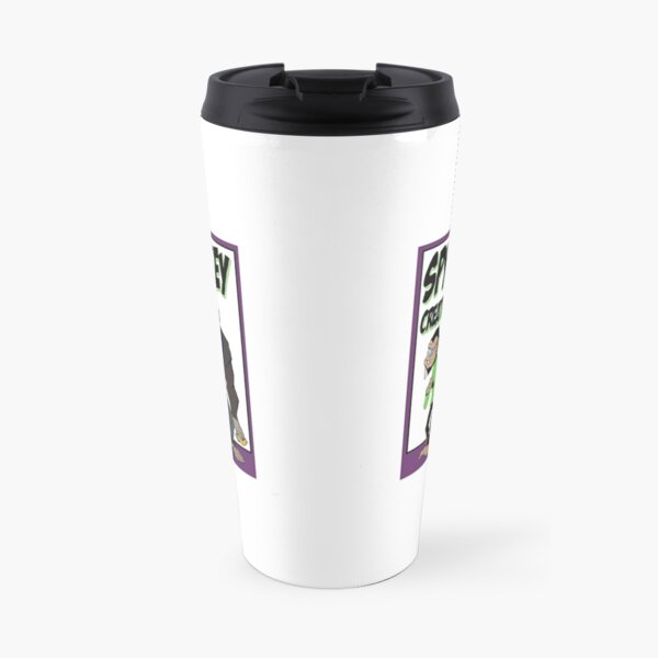 Spy Monkey Creations Inc Logo! Travel Mug