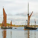 Snape Maltings Wherry by StephenRB