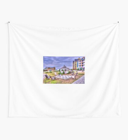 Gazebo at Blue Mountain  Wall Tapestry