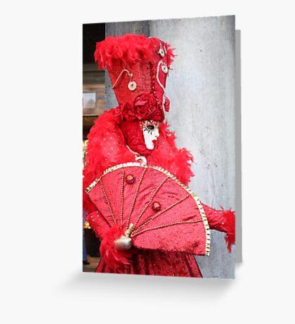 Ravishing in Red Greeting Card