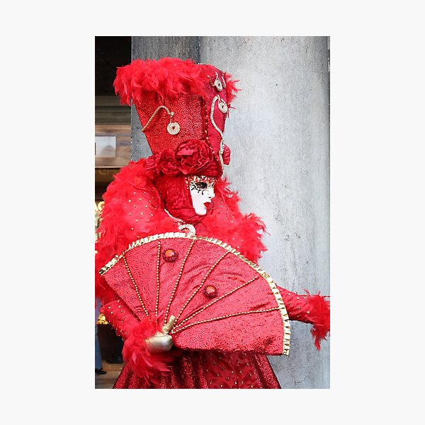 Ravishing in Red Photographic Print