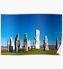 The Callanish standing stones Poster