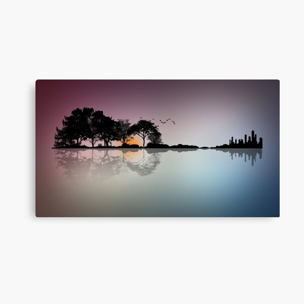 Earths Guitar Canvas Print