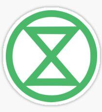 Extinction Rebellion Logo Sticker