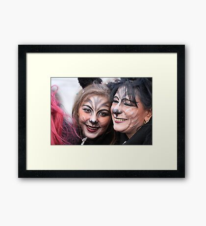 A Smile is Worth a Thousand Words Framed Print