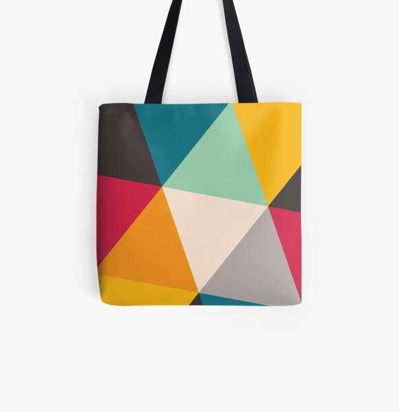 Triangles (2012) All Over Print Tote Bag