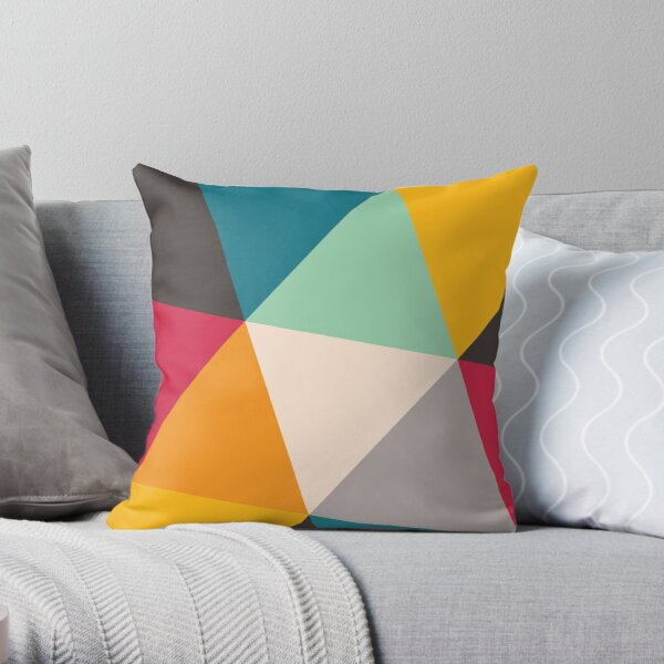 Triangles (2012) Throw Pillow