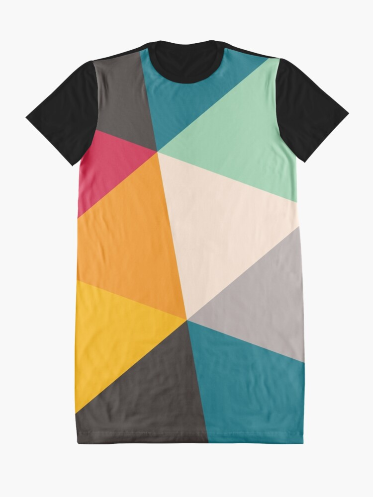 Alternate view of Triangles (2012) Graphic T-Shirt Dress