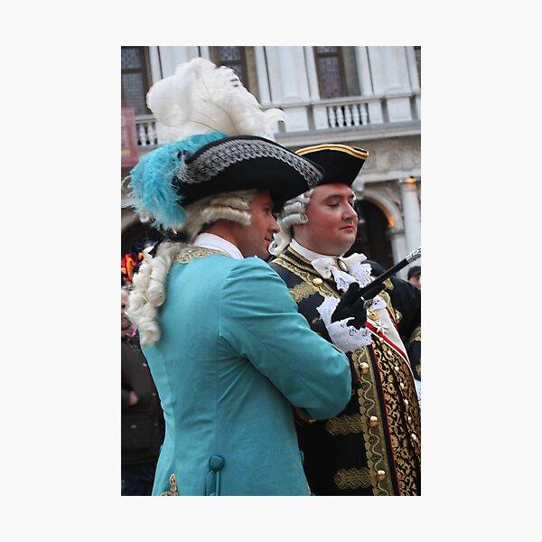 Two Fancy Gentlemen Photographic Print