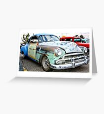 Classic American Hot Rod Greeting Card