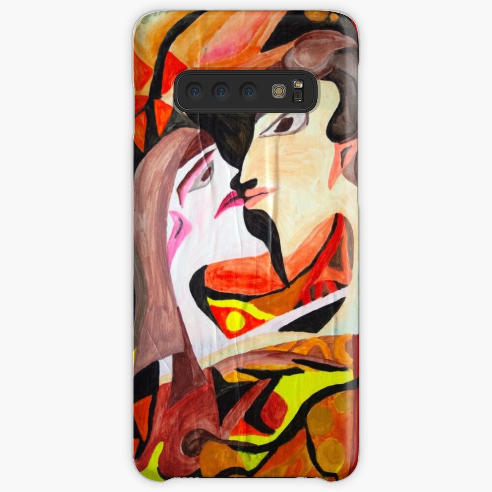 abstract kiss Samsung Galaxy Snap Case