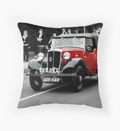 Morris 8 Throw Pillow