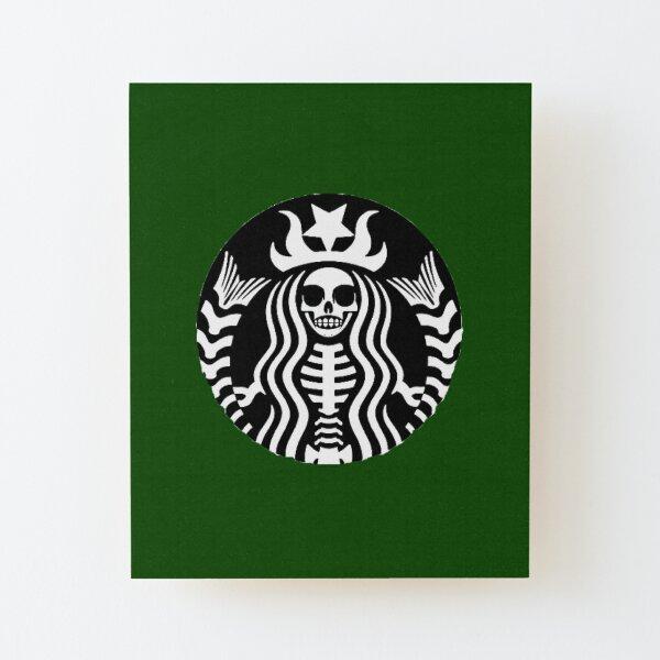 Starbucks - Death Wood Mounted Print