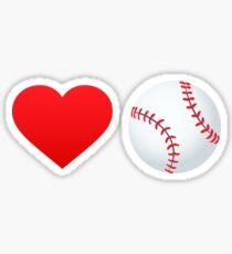 Love baseball! Sticker