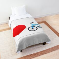 Love cycling! Comforter