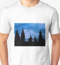 Churches against the sky in Santiago de Compostela Unisex T-Shirt