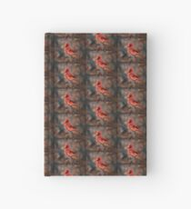 Cardinal in a Snowstorm Hardcover Journal
