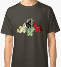 Four Little Ponies of the Apocalypse Classic T-Shirt
