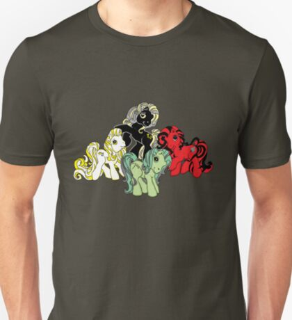 Four Little Ponies of the Apocalypse T-Shirt