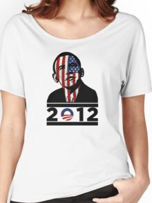 Obama 2012 Election American T-Shirt Women's Relaxed Fit T-Shirt