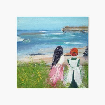 By The Shore By Colleen Ranney Art Board Print