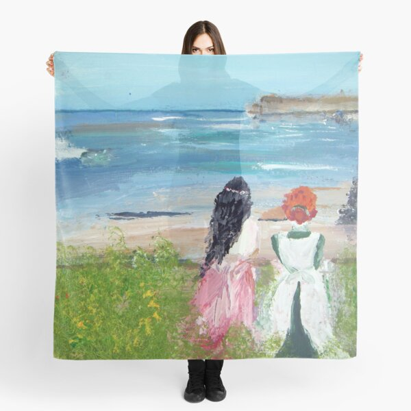 By The Shore By Colleen Ranney Scarf