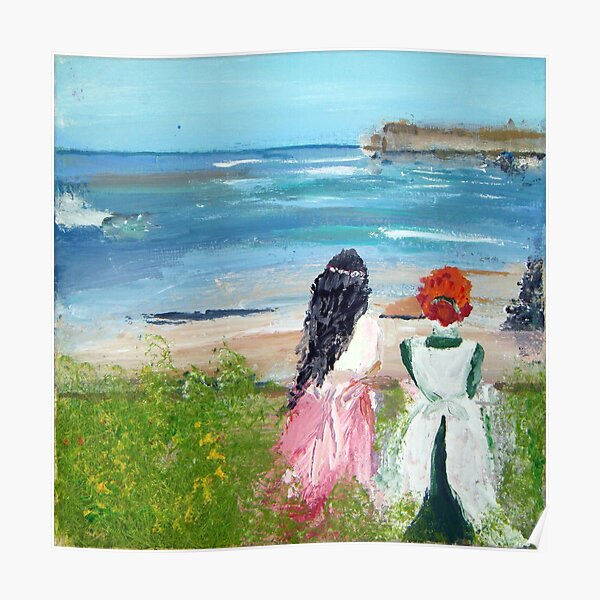 By The Shore By Colleen Ranney Poster
