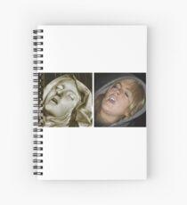 Cuaderno de espiral estético lindsay lohan