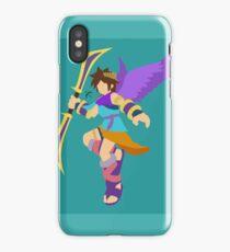 Pit (Cyan) - Super Smash Bros. iPhone Case
