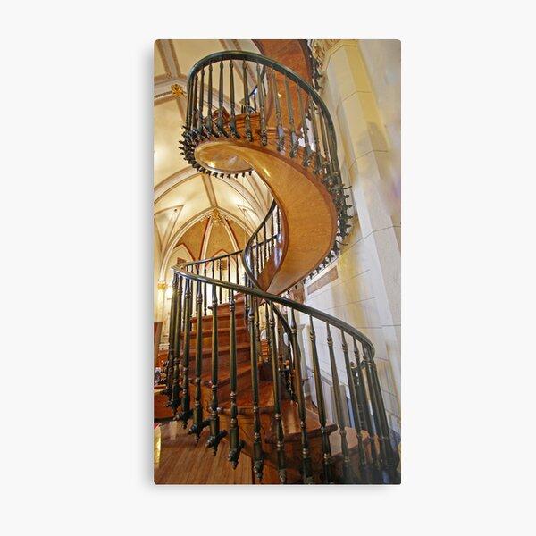 Loretto Chapel Staircase Metal Print