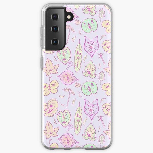 Les amis de Hestu (Pastel Purple Ver.) Coque souple Samsung Galaxy