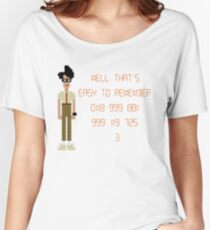 The IT Crowd – 0118 999 881 999 119 725 …3 Women's Relaxed Fit T-Shirt