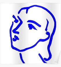 Matisse Ink Sketch Poster