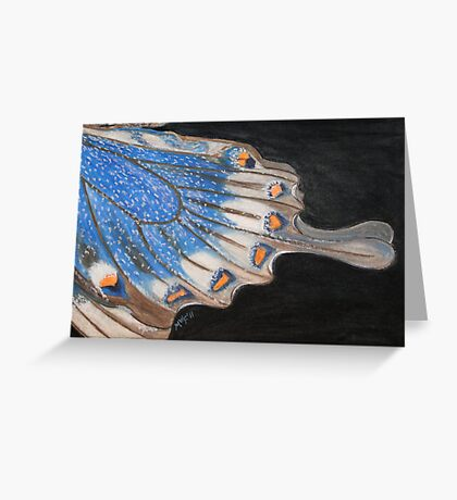 An Angel with Clip On Wings Greeting Card