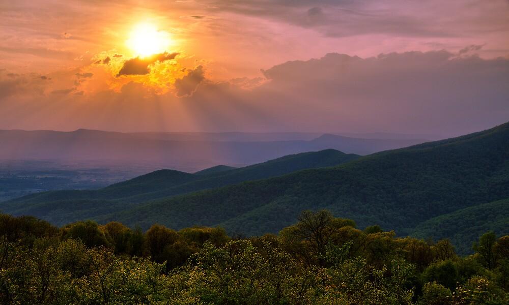 Evening Escape - Shenandoah National Park, Virginia by Matthew Kocin
