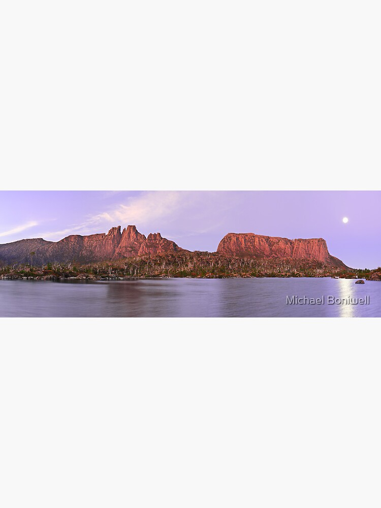Labyrinth Moonrise, Lake St Clair National Park, Tasmania by Chockstone