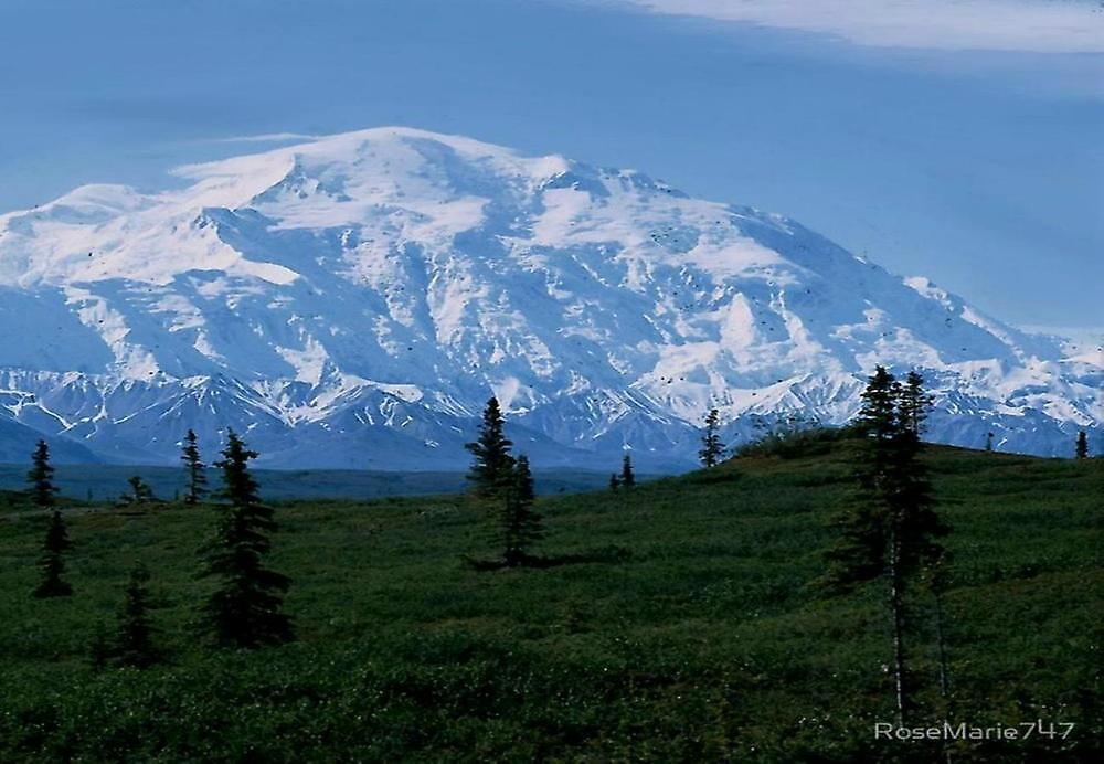 MT MCKINNLEY , ALASKA by RoseMarie747