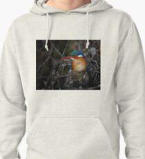 Malachite Kingfisher Pullover Hoodie