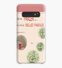 INUTILE TO SPEAK .... TO SAY BEAUTIFUL WORDS! Case/Skin for Samsung Galaxy