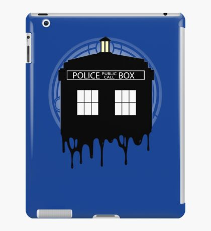 Time drip iPad Case/Skin