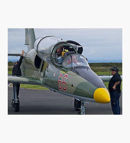 Going adventuring, l-39 jet trainer, Australia. Photographic Print