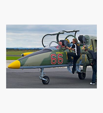 Going Flying, l-39 Jet Trainer, Tooradin, Australia. Photographic Print