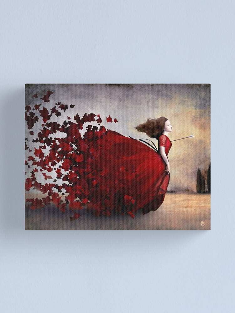 Alternate view of Amor Canvas Print